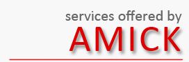 Services offered by AMICK